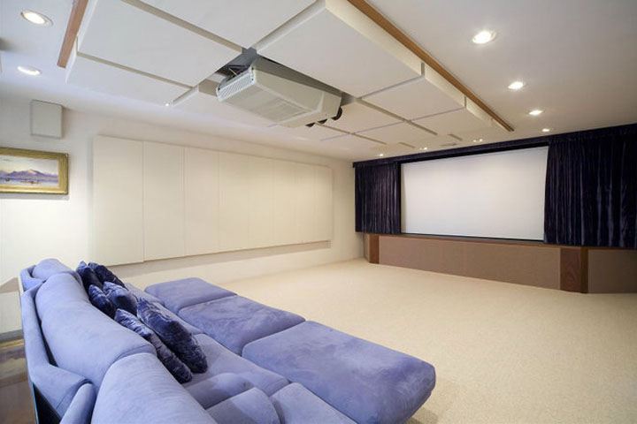 In-Home Theater Mansion Home