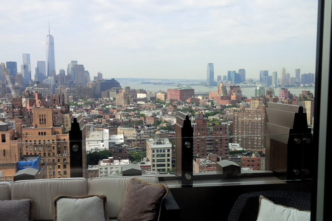 Penthouse view downtown